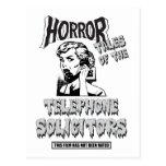 Funny Vintage Horror Movie Postcard