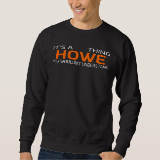 Funny Vintage Style T-Shirt for HOWE