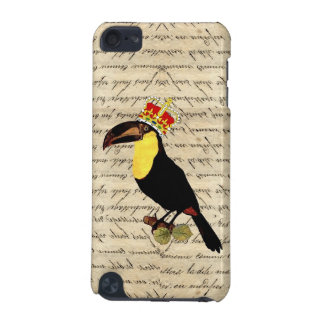 Funny vintage toucan & crown iPod touch (5th generation) case