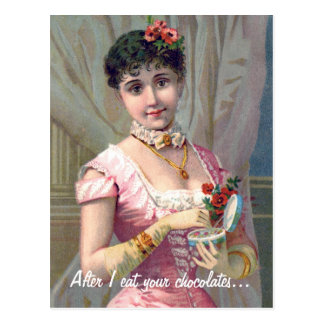Funny Vintage Valentine's Day Postcard