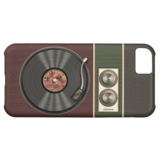 Funny Vintage Vinyl Record Player iPhone 5C Case