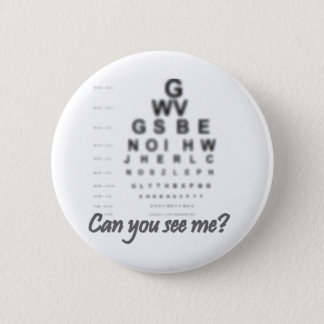 Funny vision products 6 cm round badge