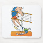 Funny Volleyball Gift Mouse Pad