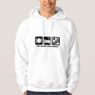 funny volleyball hoodie