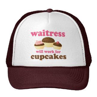 Funny Waitress Cap
