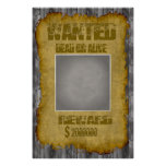 Funny Wanted Dead or Alive Poster