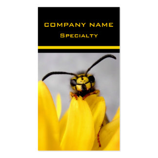 Funny Wasp - Business Card Standard Business Cards