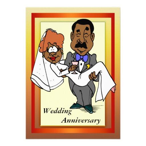 Funny Wedding Anniversary Invitation 13 Cm X 18 Cm Invitation Card