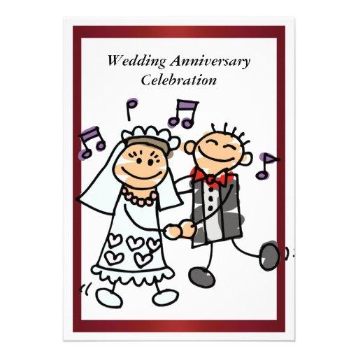 Funny Wedding Anniversary Invitation | Zazzle: www.zazzle.co.uk/funny_wedding_anniversary_invitation...