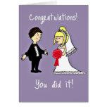 Funny Wedding congratulations