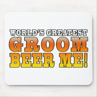 Funny Weddings Parties : Worlds Greatest Groom Mouse Pad