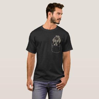 Funny Weimaraner Dog in a Pocket Shirt