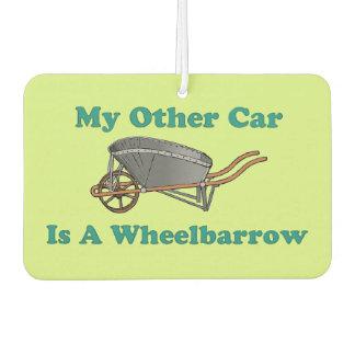 Funny Wheelbarrow Car Air Freshener