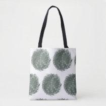 Funny Whirled Peas Design Tote Bag