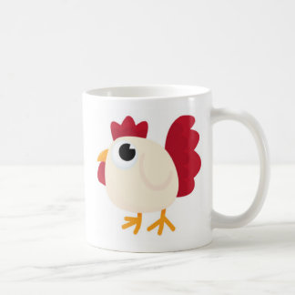Funny White Chicken Coffee Mug