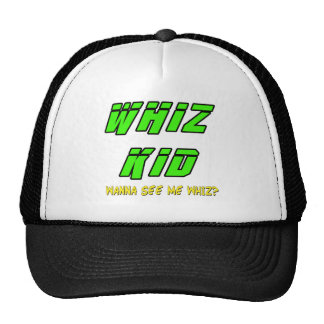 Funny Whiz Kid T-shirts Gifts Mesh Hat