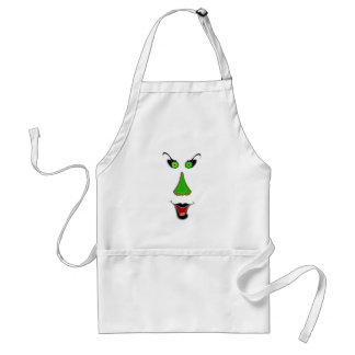 Funny Wicked Witch - Halloween Apron for Adults