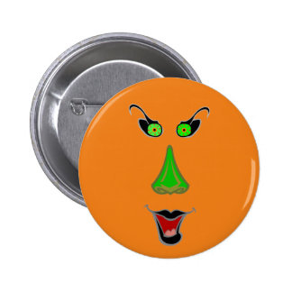 Funny Wicked Witch - Halloween Bag Fillers 2 Inch Round Button