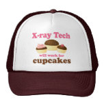 Funny Will Work for Cupcakes X-ray Tech