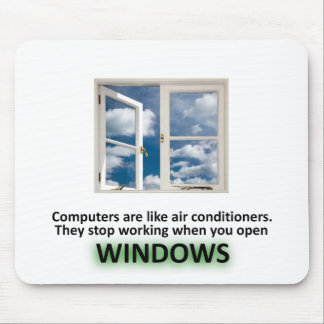 Funny Windows Joke - GeekShirts Mouse Mat