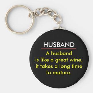 Funny Wine Keychain