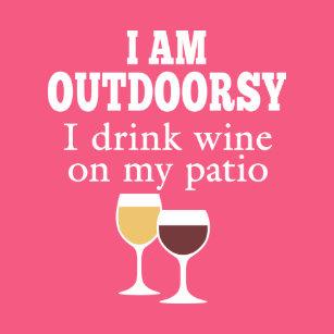Funny Wine Quotes Badges & Pins | Zazzle UK