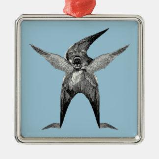 funny Wingman Dada Inspired Christmas Ornament