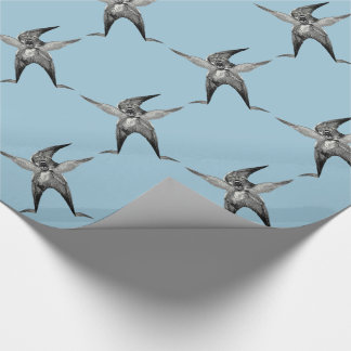 funny Wingman Dada Inspired Wrapping Paper