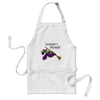 Funny Witch Flying Aprons