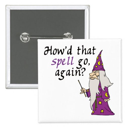 Funny Wizard Button