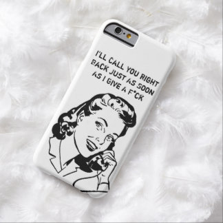 funny women cover,Retro Barely There iPhone 6 Case