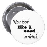 Funny womens gift wine gifts humour joke buttons