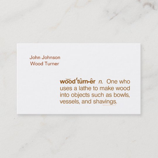 Funny woodturner business cards template zazzle funny woodturner business cards template cheaphphosting Image collections
