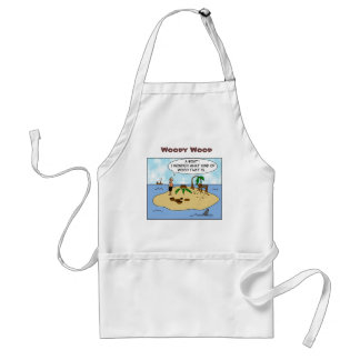 Funny Woodturner Cartoon Personalized Apron