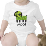 Funny Woof Dog Baby Shirt