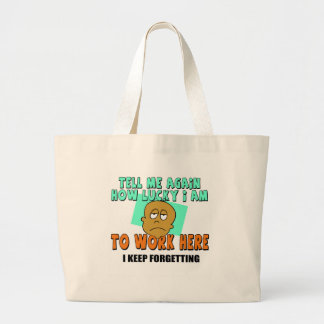Funny Work T-shirts Gifts Bags