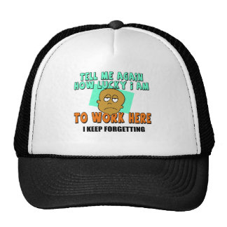 Funny Work T-shirts Gifts Cap