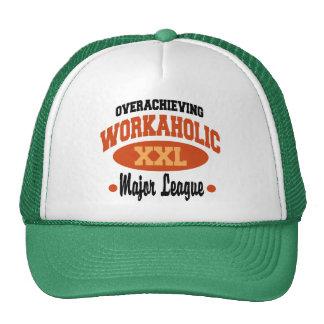 Funny Workaholic Cap