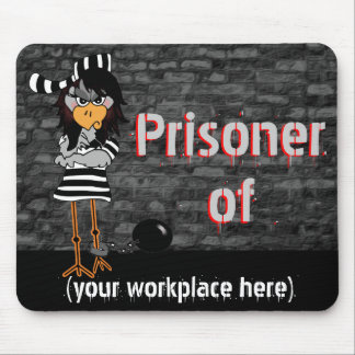 Funny Workaholic Gift Mouse Pads