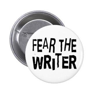 Funny Writer 6 Cm Round Badge