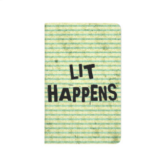 Funny Writer Reader Lit Happens Journals