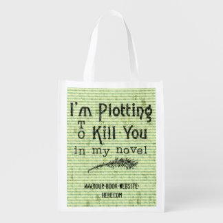 Funny Writer Writing Plotting to Kill You