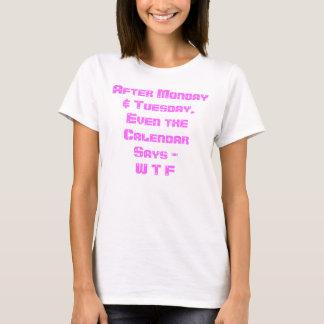 FUNNY WTF PRINT T-Shirt
