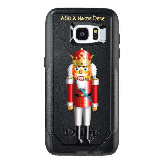 Funny Xmas Nutcracker King OtterBox Samsung Galaxy S7 Edge Case