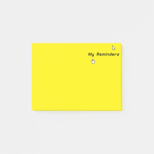 Funny XP Retro Geek My Reminders - Post-it®