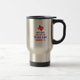 Funny Y'all Texas Girl Tees Travel Mug
