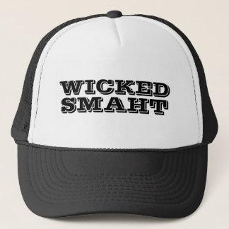 Funny Yankee Accent | Wicked Smart Smaht Bostonian Trucker Hat