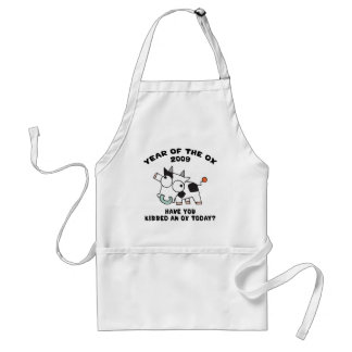 Funny Year of The Ox Gifts Standard Apron