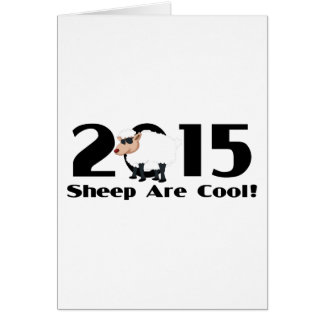 Funny Year of The Sheep Ram Goat 2015 Greeting Card