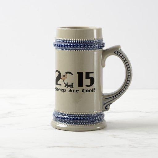 Funny Year of The Sheep Ram Goat 2015 Coffee Mug